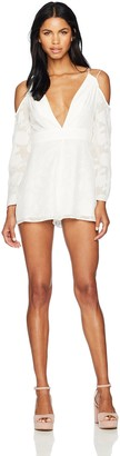 Finders Keepers findersKEEPERS Women's Told You Playsuit