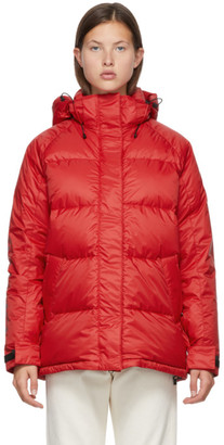 Canada Goose Red Down Approach Jacket