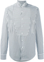 Loewe stripe panel shirt - men - Cotton - 38