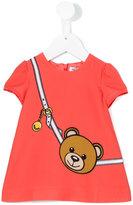 Moschino Kids - teddy bear print dress - kids - Polyester/Spandex/Elastane - 3 mth