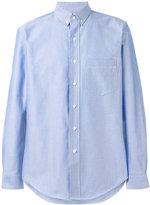 Palm Angels button down shirt - men - Cotton/Polyester/Metallic Fibre - 42