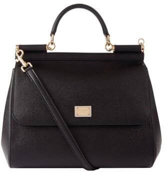 Dolce & Gabbana Large Leather Sicily Bag