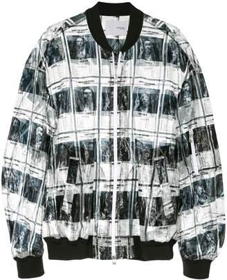 Yoshio Kubo wanted MA-1 bomber jacket
