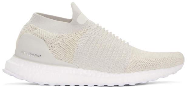 adidas Beige UltraBOOST Laceless Sneakers