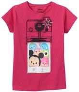 """Disney Disney's Tsum Tsum Girls 4-7 """"#TSELFIE"""" Graphic Tee"""