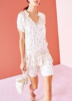 Ulla Johnson Nora Floral Print Dress White