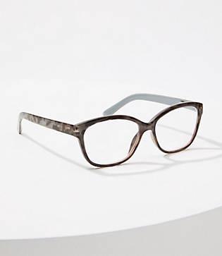 LOFT Leopard Print Reading Glasses