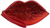Lulu Guinness Lulu Guiness Cupids Bow Lip Wristlet, Red