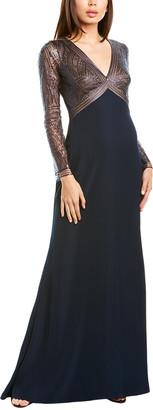 Tadashi Shoji Sequined Gown
