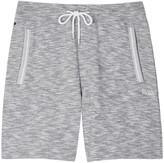 Boss Grey Mélange Cotton Shorts