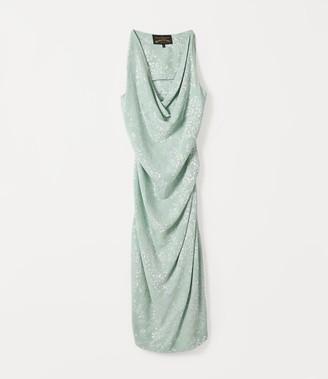 Vivienne Westwood VIRGINIA DRESS Mint JACQUARD