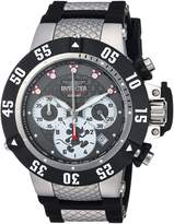 Invicta Men's 'Disney Limited Edition' Quartz Stainless Steel and Silicone Casual Watch, Color:Two Tone (Model: 23281)