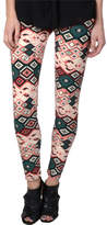 Hailey Jeans Co. Women's Legging-E100634 - Pink/Green Leggings