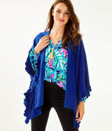 Lilly Pulitzer Rosaria Ruffle Sweater Wrap
