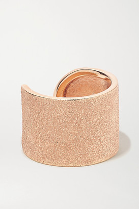 Carolina Bucci Florentine 18-karat Rose Gold Ring - 6