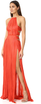 Maria Lucia Hohan Zakai Sleeveless Maxi Dress