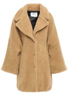 Ainea Oversized Faux Shearling Coat