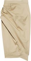 Vivienne Westwood Philosophy stretch cotton-twill skirt