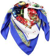 Dolce & Gabbana Flower Vase Silk Scarf