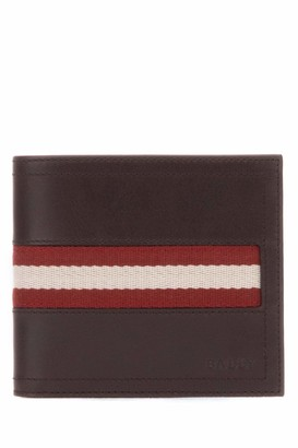 Bally Tollent Stripe Detail Wallet