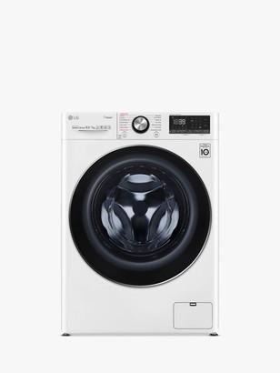 LG Electronics V900 FWV917WTS Freestanding Washer Dryer, 7kg Wash/10.5kg Dry Load, A Energy Rating, 1400rpm Spin, White