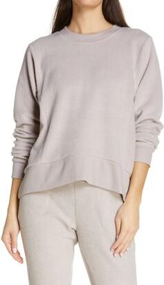 Zella Harmony Fleece Crewneck Pullover