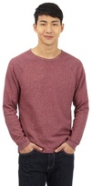 Red Herring Red Waffle Crew Neck Jumper