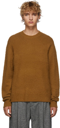 Acne Studios Brown Cashmere and Wool Peele Sweater