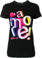 Love Moschino amore! classic T-shirt