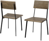 Mercana Home Viscount Set Of 2 Dining Chair