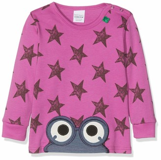 Green Cotton Fred's World by Baby Girls' Star Peep T Shirt