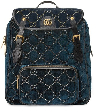 Gucci small GG pattern backpack