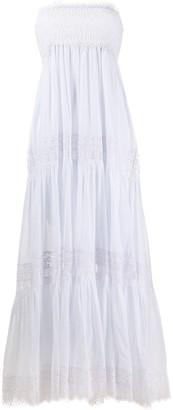 Charo Ruiz Ibiza Off-Shoulder Tiered Dress