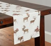 Pottery Barn Silly Stag Table Runner
