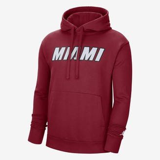Nike Men's Jordan NBA Hoodie Miami Heat Statement Edition
