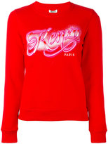 Kenzo branded jumper - women - Cotton - M