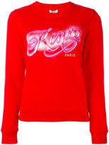 Kenzo branded jumper - women - Cotton - S
