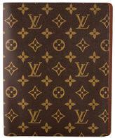 Louis Vuitton Monogram Desk Agenda Cover
