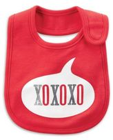 "Carter's âXOXO"" Bib in Red"
