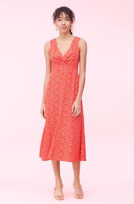 Rebecca Taylor Malia Floral Jacquard Dress