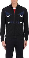 Fendi Men's Monster Eyes Jersey Track Jacket