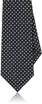 Isaia Men's Dotted Silk-Cotton Necktie