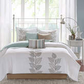 JCPenney Madison Park Rochelle Embroidered Leaf 6-pc. Quilt Set