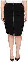 B Collection by Bobeau Curvy Plus Size Brigid Ponte Skirt