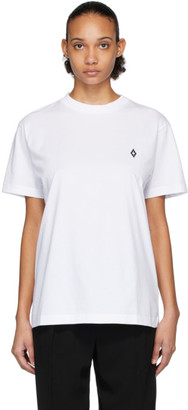 Marcelo Burlon County of Milan White Logo T-Shirt