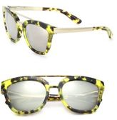 Dolce & Gabbana 54MM Square Acetate & Metal Sunglasses