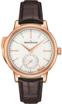 Jaeger-LeCoultre Jaeger Le Coultre Q5092420 Master Grande minute repeater rose gold and alligator-leather watch