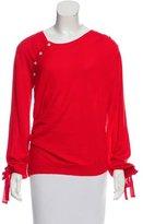 Nina Ricci Wool & Silk-Blend Lightweight Sweater w/ Tags