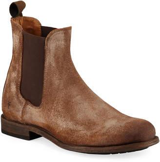 Frye Men's Tyler Rustic Leather Chelsea Boots