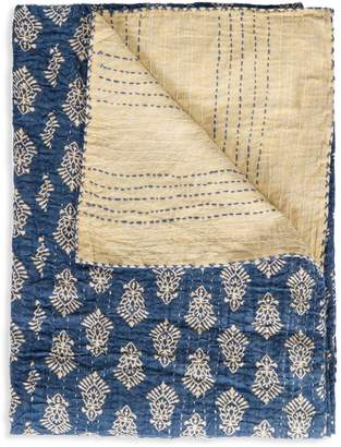 +Hotel by K-bros&Co Taj Hotel Kantha Quilted Throw